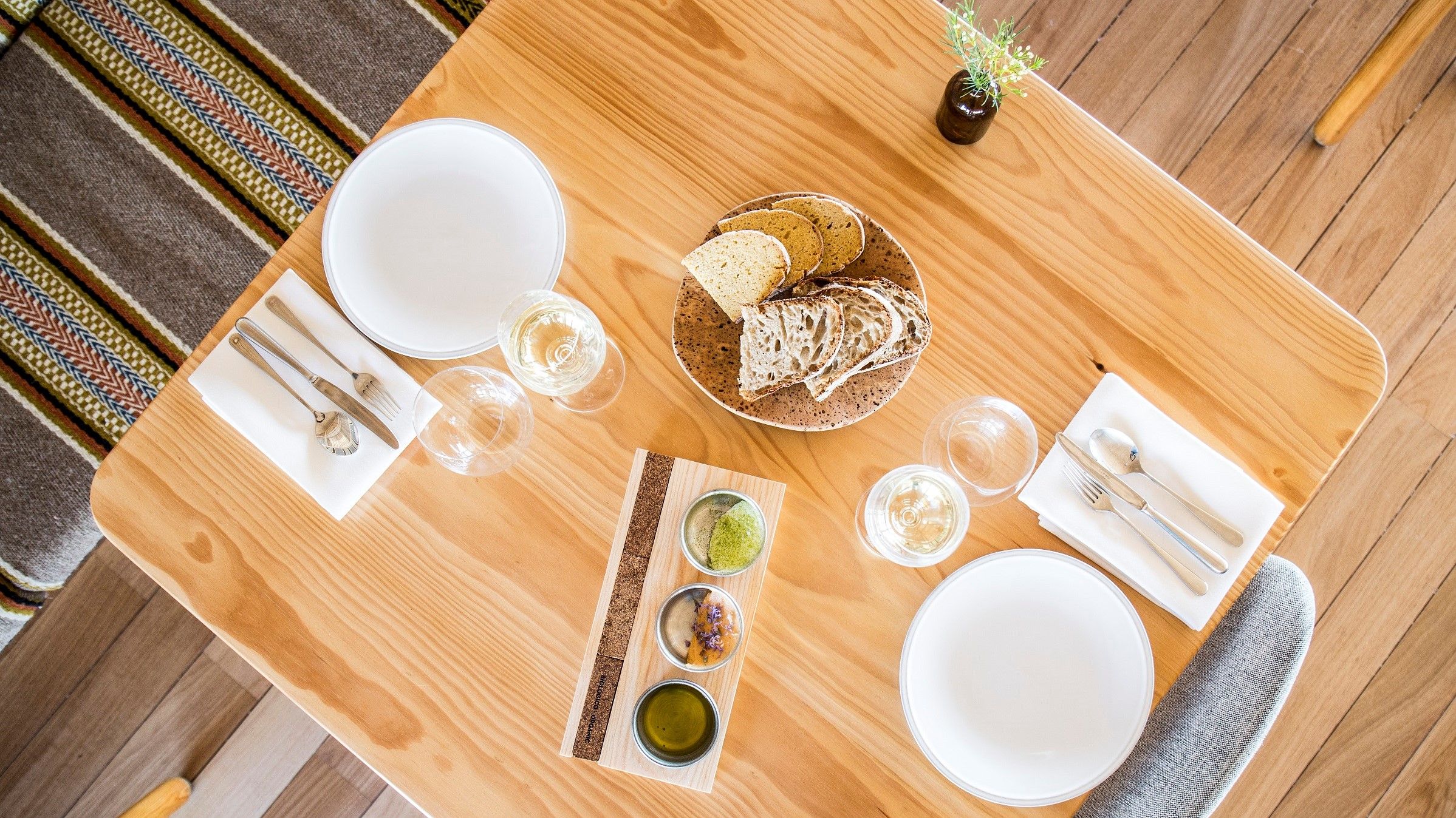 Herdade do Esporão – Almoço 5 Momentos
